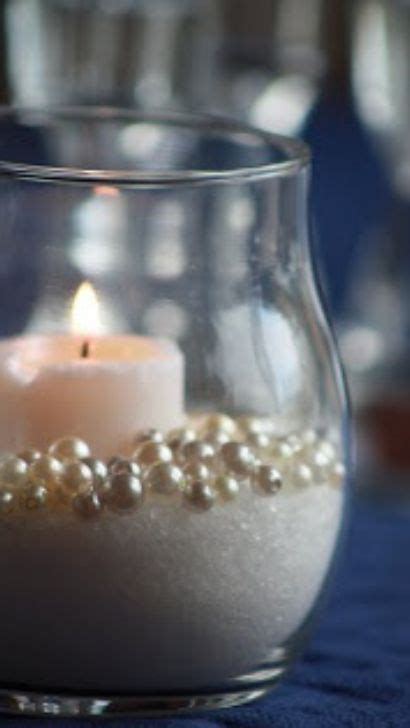 Sugar and Pearls Centerpiece   30th Anniversary