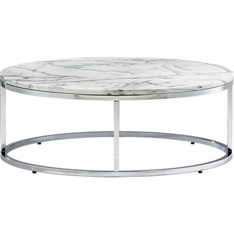 Cb2 Marble Coffee Table Smart Marble Top Coffee Table