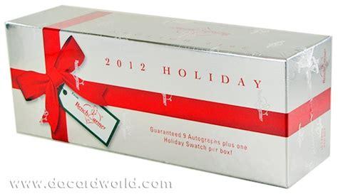 bench warmers cards benchwarmer holiday trading cards set 2012 da card world