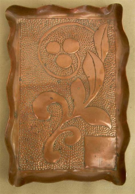 crafts arts and antiques atlas an arts crafts copper tray