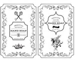 Design A Kitchen Free Online hand soap label printables rae botsford end s blograe