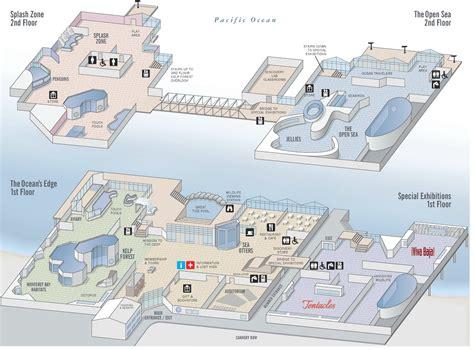 Monterey Bay Aquarium map