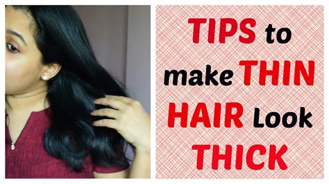 short haircuts to make hair look thicker tips tricks to make thin hair look thick indian mom