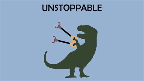 Unstoppable T Rex Meme - t rex cartoon unstoppable www imgkid com the image kid