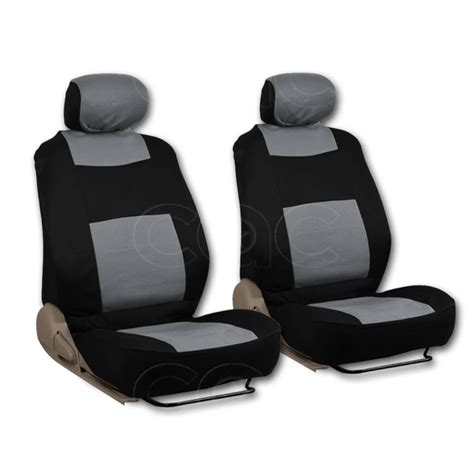 car seat bench gray type r 9 piece front car seat rear bench head rest