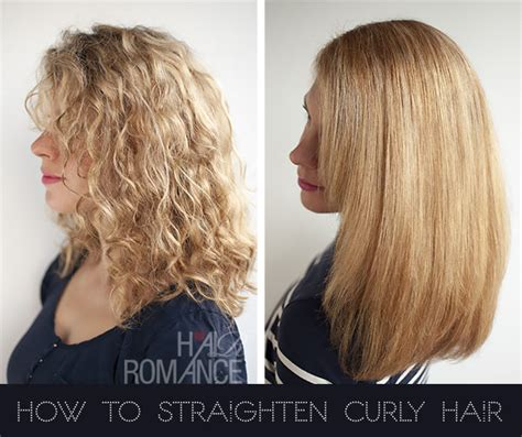 how to make straight hair curly styling your hair hair straightening for curly hair short hairstyle 2013