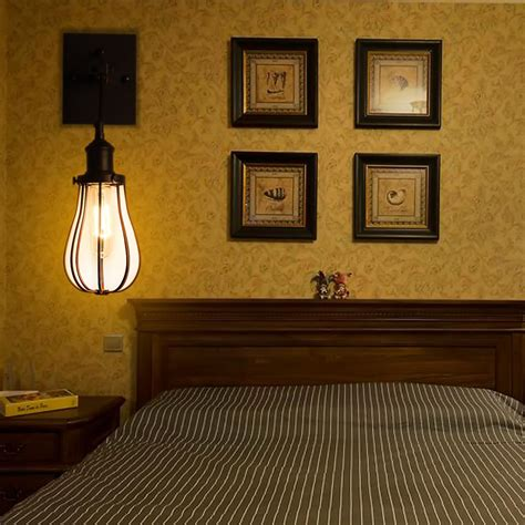 lights for home decoration ᗗvintage loft single head ᗔ wall wall l indoor bedroom
