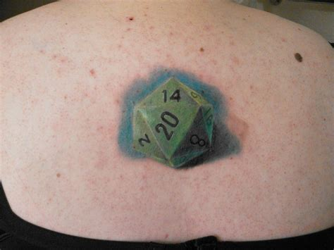 d20 tattoo d20 tattoos