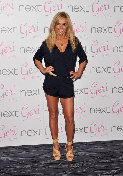 Is Geri Halliwells New The Real Thing by Geri Halliwell Pictures Geri Halliwell Launches New