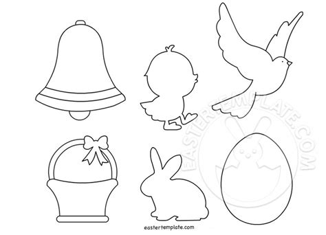 easter template easter templates to print easter template