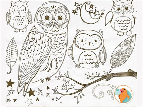 owl brushes   photoshop design trends