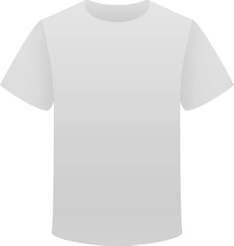 Tokolobo Kaos Simple Ba Grey white t shirt png clipart best