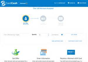 Sell Walmart Gift Card Online - walmart s new site allows consumers to exchange unwanted gift cards for walmart e