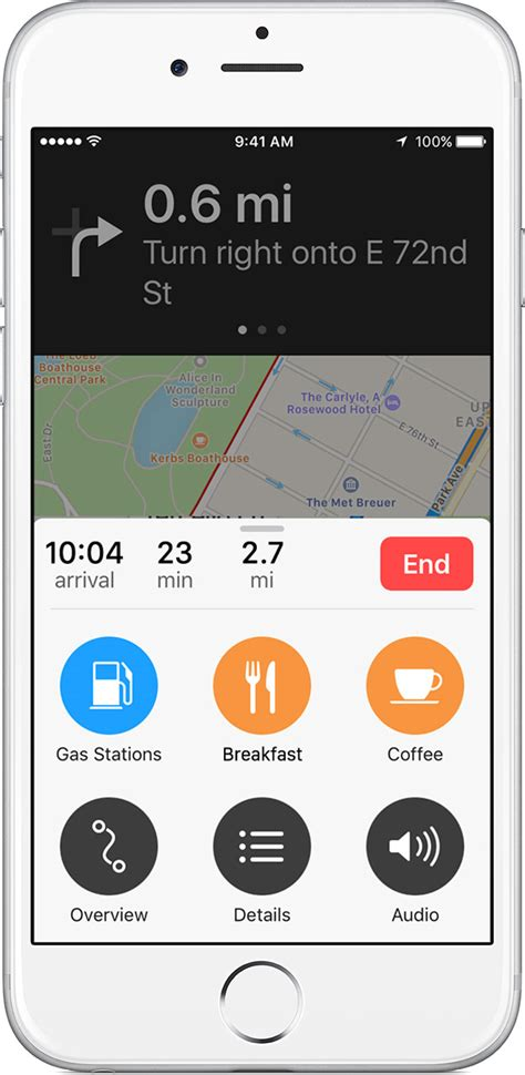 itouch maps use maps on your iphone or ipod touch apple support