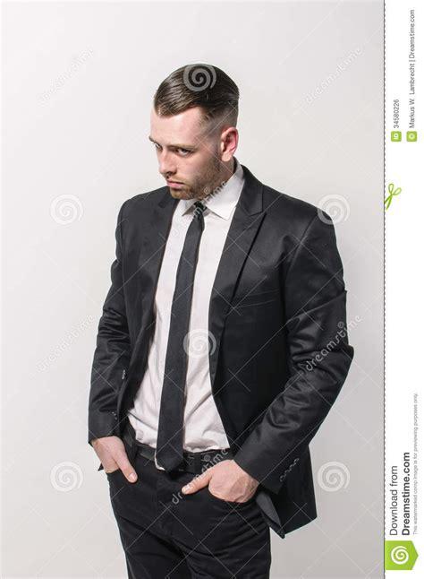 ties for short men dark suit and neck tie stock photo image of hands jacket