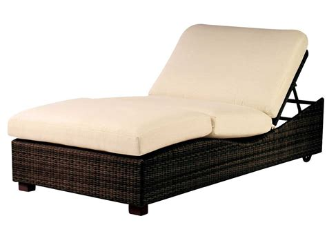 double chaise cushions whitecraft montecito double chaise lounge replacement