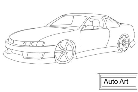 coloring pages drifting cars sketches of nissan cars and trucks coloring pages