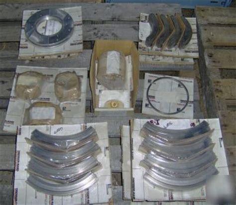 Dresser Rand Parts by 1 Lot Dresser Rand Turbine Parts Model 10s1b05 10inch