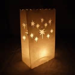star luminarias paper craft bag 10 pack fire retardant