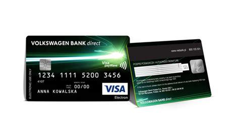 volkswagen bank direct volkswagen bank direct przedstawia nowe karty płatnicze