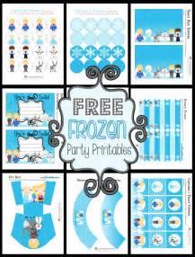 Printable Frozen Party | more free disney frozen printables