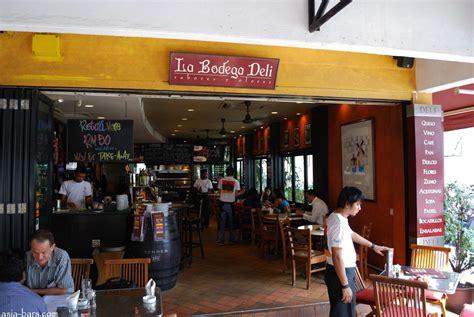 la bodega la bodega deli at jalan telawi bangsar kuala lumpur asia bars restaurants