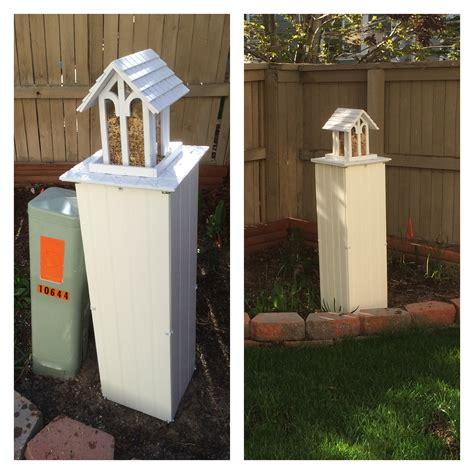 decorative utility box covers utility box cover utility box cover pinterest box