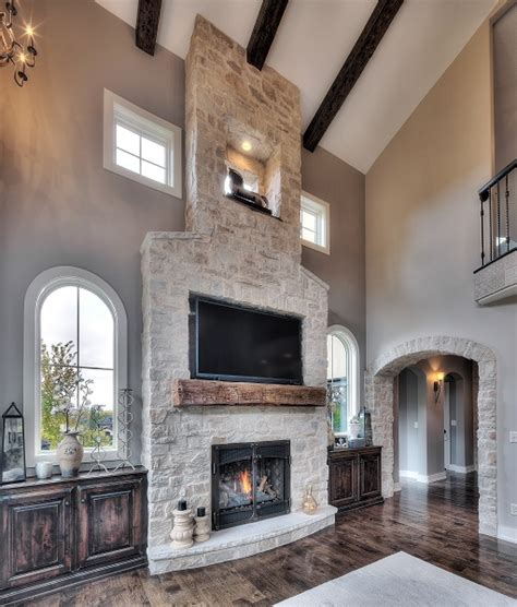 Stone Veneer Fireplace Ideas That Will Warm Up Your Home