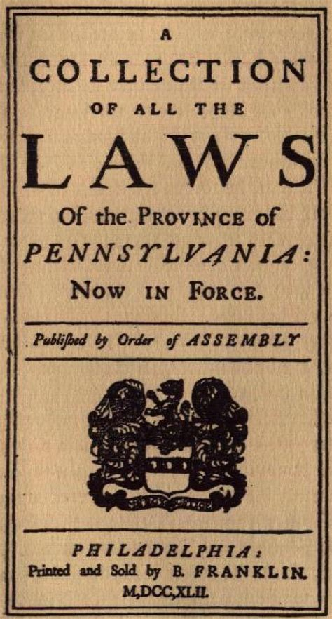 pa laws file collection of laws of province of pennsylvania jpg