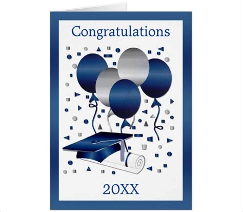 congratulation graduation card template greeting card templates free premium templates