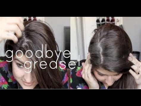 hairstyles to hide greasy hair youtube get rid of greasy hair without dry shoo youtube