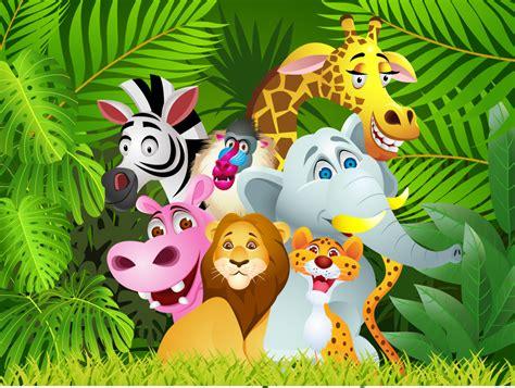 safari cartoon wallpaper clipart jungle animal pencil and in color