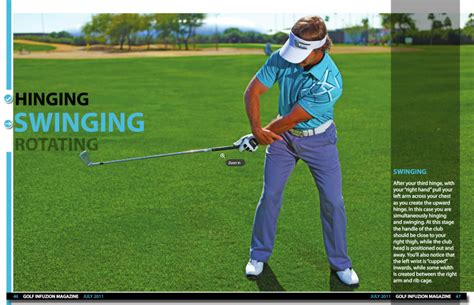 golf swing without wrist hinge back in action jeff ritter
