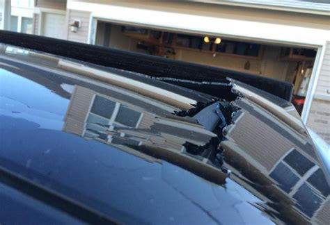 Toyota Venza Problems 2010 Toyota Venza Sunroof Shattered 1 Complaints