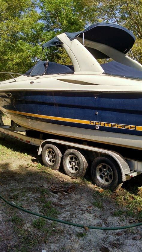 monterey boats for sale usa monterey boat for sale from usa