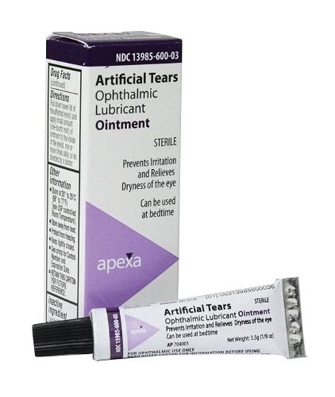 artificial tears for dogs artificial tears ointment vet label w lanolin health personal care vision