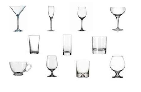 tipi di bicchieri bicchieri cocktail ecco la classificazione di tutti i