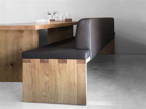 upholstered wooden bench sc02 upholstered bench by janua design christian seisenberger