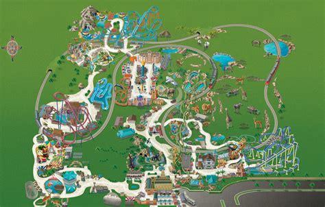 Busch Gardens Park Map by Busch Gardens Ta Maps Garden Ftempo