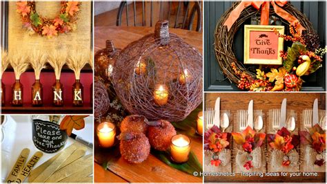thanksgiving decorations 23 neat inexpensive diy thanksgiving decorations for every