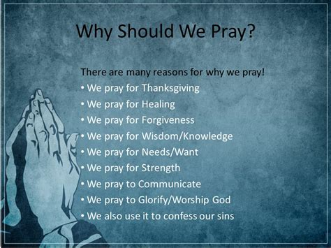 Reasons Not To Worship by Can You Hear Me God The Power Of Prayer Presented To You