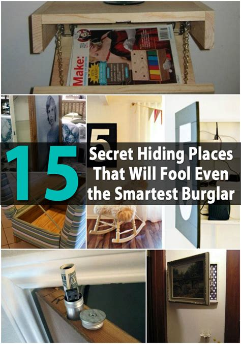 where to hide stuff in your room 15 secret hiding places that will fool even the smartest burglar diy crafts