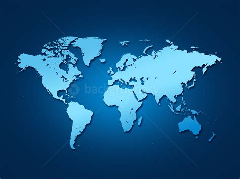 Map Of The World Wall Mural blue world map backgroundsy com