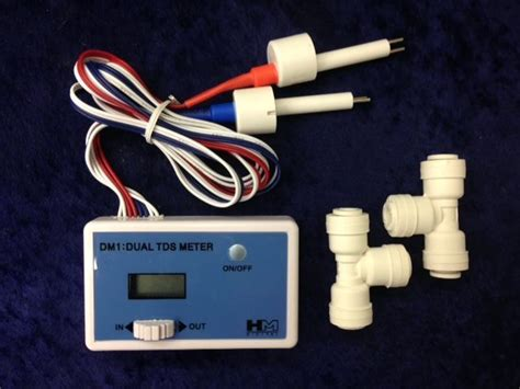 Tds Hm Dm1 Tds Monitor Dm1 hm digital dm 1 inline dual tds monitor with 1 4 quot tees ebay