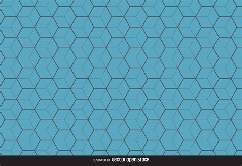 blue pattern background vector blue hexagon pattern background vector download