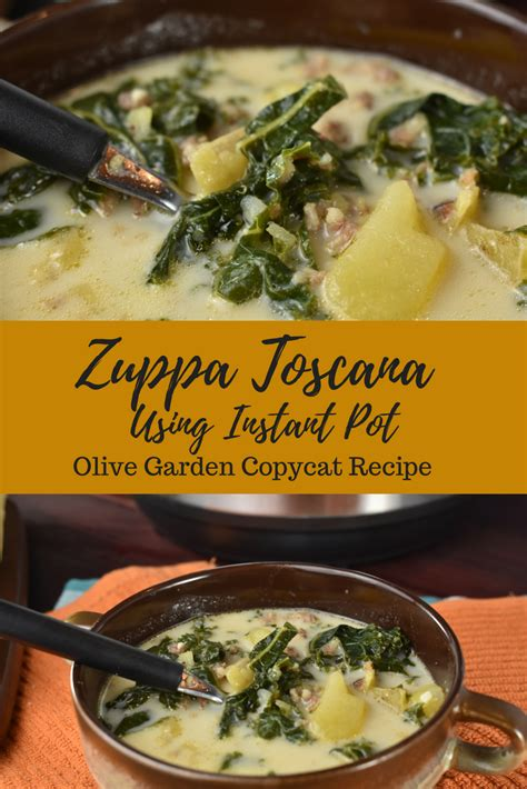 zuppa toscana instant pot recipe copycat from olive