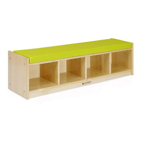 bench cubby 4 section bench cubby solid maple university furniture