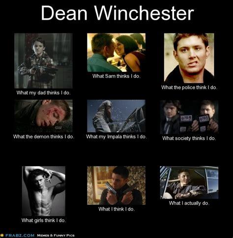 Winchester Meme - dean winchester supernatural meme by linda jackson