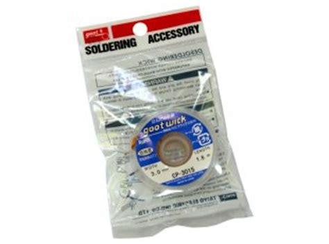 E Diy Kit Soder Wick Solder Wick 1 Tin Of 10 solder wick 5feet