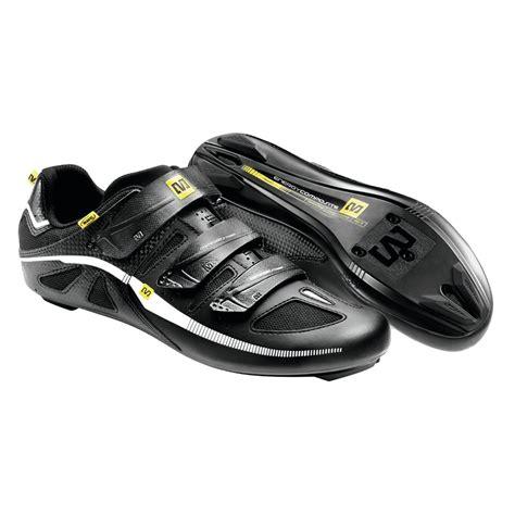 road bike shoe fit mavic peloton road cycling shoes size 9 5 black white ebay